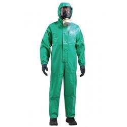 Ολόσωμη φόρμα προστασίας χωρίς κουκούλα για βιομηχανικό καθαρισμό