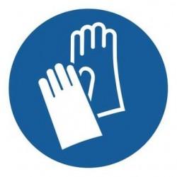 Σήμα ασφαλείας: Υποχρεωτική χρήση γαντιών ΣΥ6