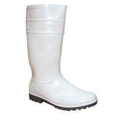 Γαλότσα απλή λευκή γόνατου