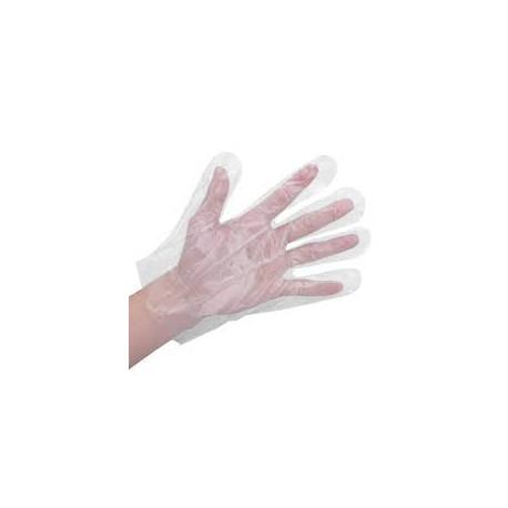 Γάντια μιας χρήσης PE